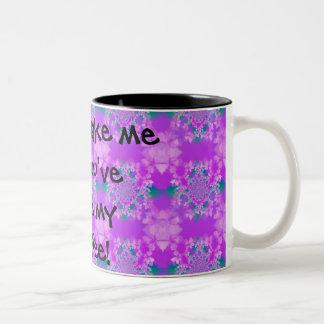 Don't wake me till you've made my Coffee! Two-Tone Coffee Mug
