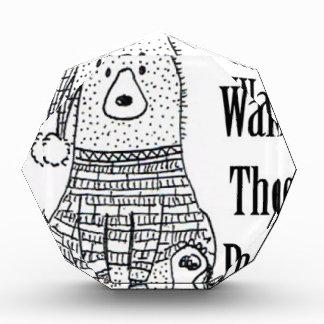 Don't Wake The Bear Acrylic Award
