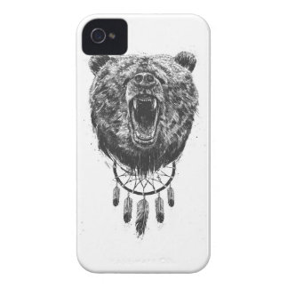 Don't wake the bear iPhone 4 cases