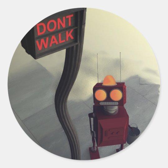 Don't Walk Sticker