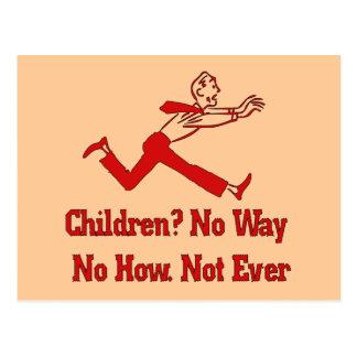 Don't Want Children Postcard