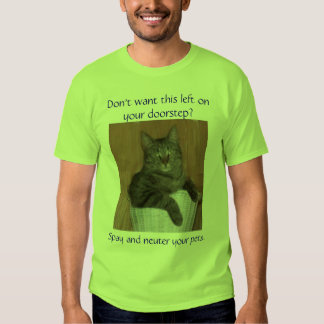 Don't want this left on your... T-Shirt