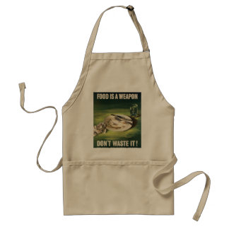 Don't Waste Food! Adult Apron