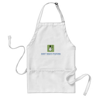 Don't Waste Photons Adult Apron
