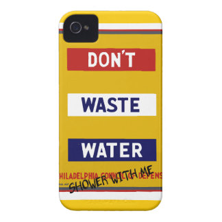 DON'T WASTE WATER Case-Mate iPhone 4 CASE