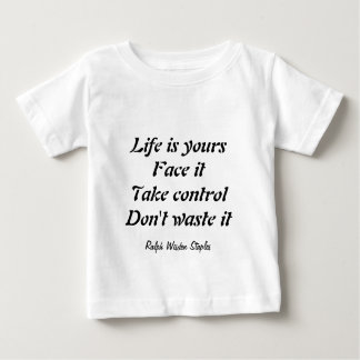 Don't waste your life baby T-Shirt