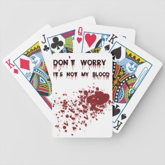 DON'T Worry(1) Bicycle Playing Cards