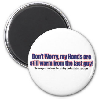 Don't-Worry 2 Inch Round Magnet