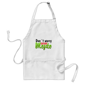 Dont Worry Adult Apron