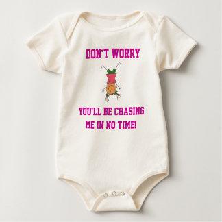 Don't Worry... Baby Sleeper Baby Bodysuit