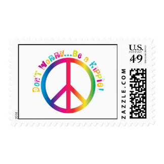 Don't Worry...Be a Hippie Stamps