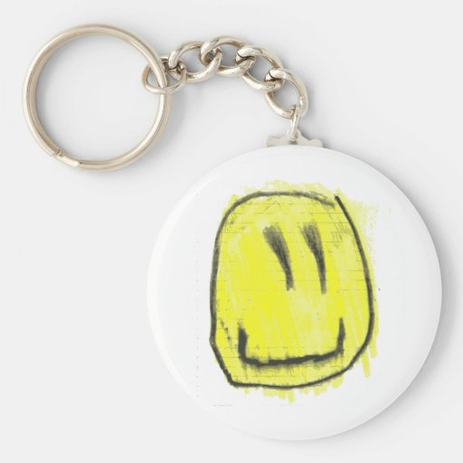 Don't Worry, Be Happy! (AND SMILE TOO! :) ) Keychain