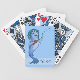 Don't worry - be happy bicycle playing cards