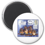 don't worry be happy humor refrigerator magnets