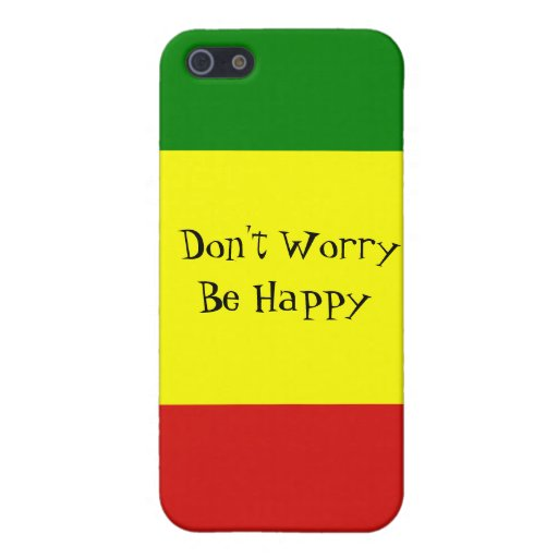 Don't Worry Be Happy iPhone 5/5S Case
