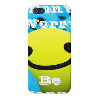 Don't Worry Be Happy iPhone 5 Cover