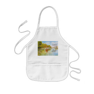 dont worry be happy kids' apron