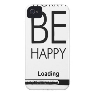DONT WORRY BE HAPPY LOADING.ai iPhone 4 Case-Mate Case