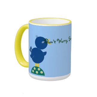 """Don't Worry, Be Hoppy!"" Mug"