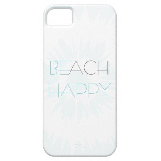 Don't Worry, Beach Happy Case iPhone 5 Case
