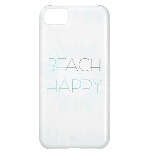 Don't Worry, Beach Happy Case iPhone 5C Covers