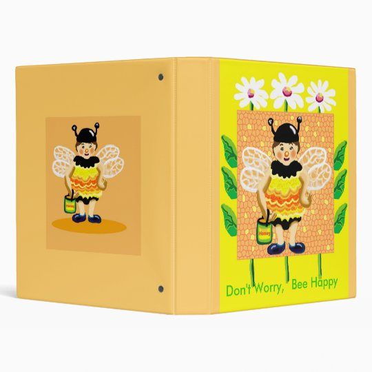 Don't worry, bee happy binder