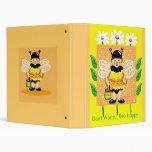 Don't worry, bee happy binders