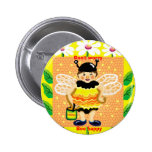Don't worry, bee happy buttons