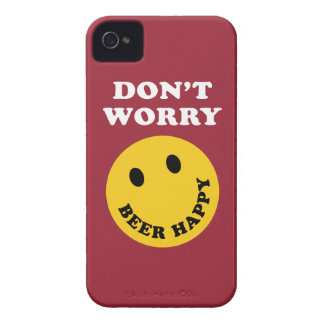Don't Worry Beer Happy iPhone 4 Covers