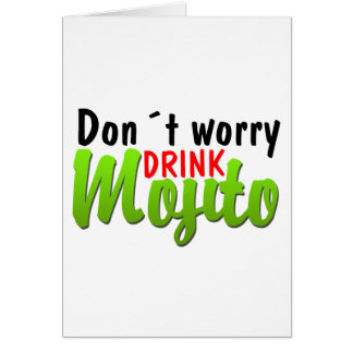 Dont Worry Card