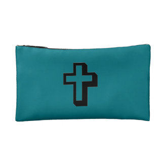 Don't Worry Cosmetic Bag w/Shadow Cross