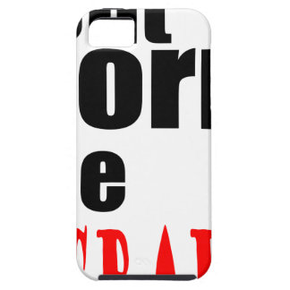 DONT worry crappy weird quote happy joke awkward m iPhone SE/5/5s Case
