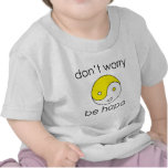 dont worry face tshirts