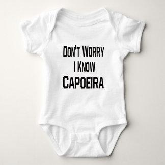 Don't worry i know Capoeira. Baby Bodysuit