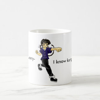 Don't worry- I know kung fu! Coffee Mug