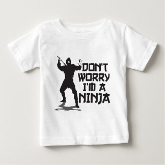 Don't Worry I'm A Ninja Baby T-Shirt