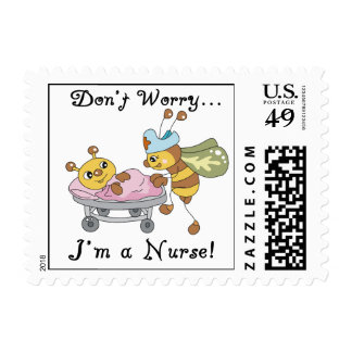 Don't Worry I'm a Nurse T-shirts and Gifts Postage Stamp