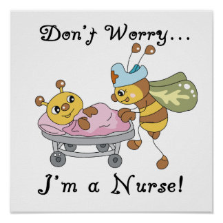 Don't Worry I'm a Nurse T-shirts and Gifts Print
