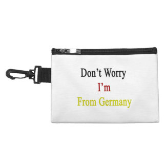 Don't Worry I'm From Germany Accessory Bags
