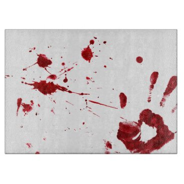 Halloween Themed Don't worry, it's not my blood. cutting board