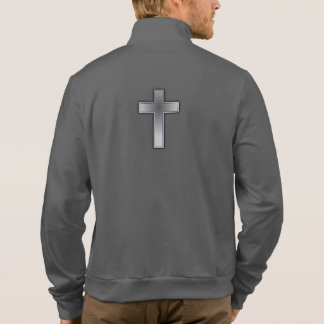 Don't Worry Jogger Jacket w/Blue Cross
