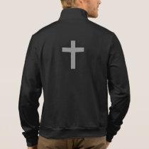 Don't Worry Jogger Jacket w/Gray Flared Cross
