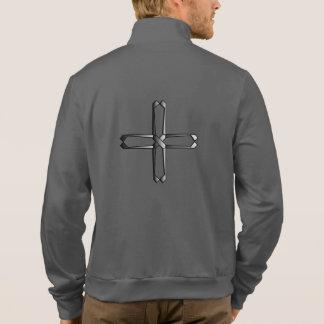 Don't Worry Jogger Jacket w/Steel Cross