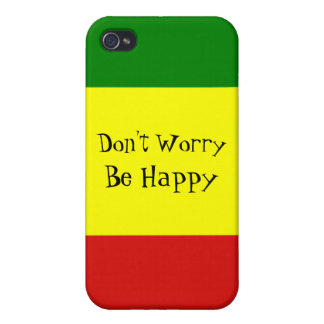 Don't Worry Matte iPhone 4 Case