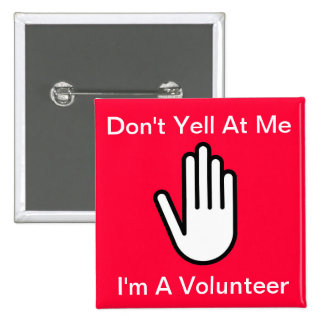 Don't Yell At Me - Button