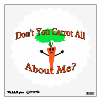 Don't You Carrot All About Me Wall Skins