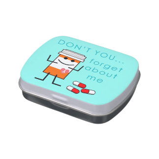 Don't You Forget Pills - Pill Box Candy Tin