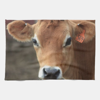 Don't you think I'm Pretty Jersey Cow Kitchen Towel