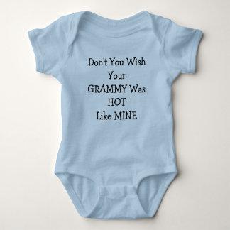 Don't You Wish YourGRAMMY Was HOTLike MINE Baby Bodysuit