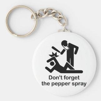 DontForgetThePepperSpray Keychain